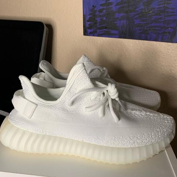 Yeezy Shoes | 360 Boost V2 Cream | Poshmark